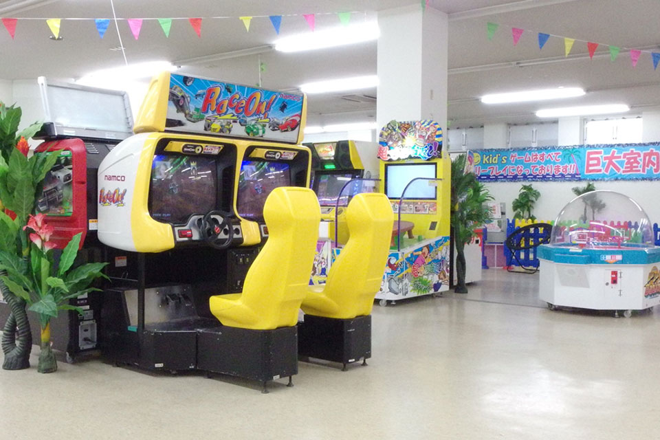 Kid's US.LAND ゲーム機