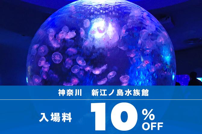 新江ノ島水族館 当時使える割引チケット