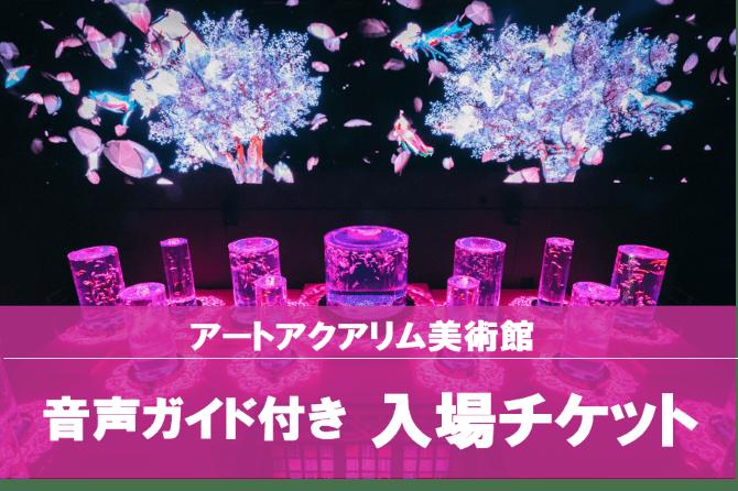 【割引チケット・夏休み特集】アートアクアリウム美術館
